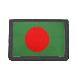 Bangladesh Flag Trifold Wallets
