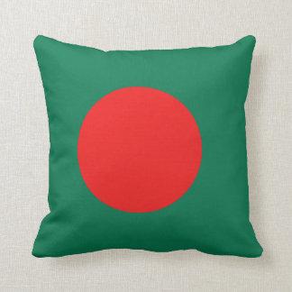 Bangladesh Flag x Flag Pillow