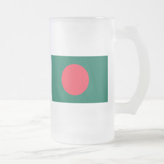 bangladesh frosted glass beer mug