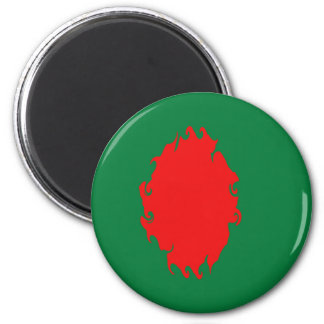 Bangladesh Gnarly Flag Magnet