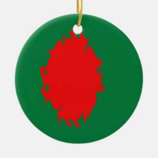 Bangladesh Gnarly Flag Ornament