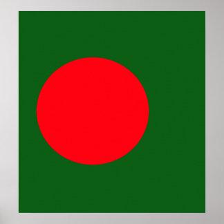 Bangladesh High quality Flag Poster