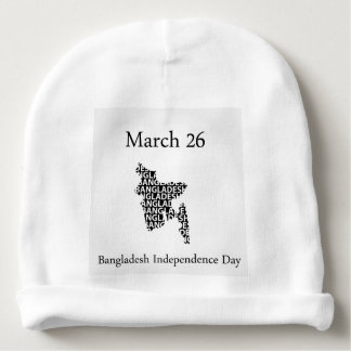 Bangladesh Independence day- March 26 Baby Beanie