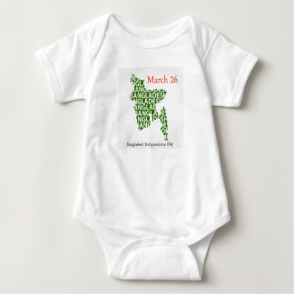 Bangladesh Independence day- March 26 Baby Bodysuit