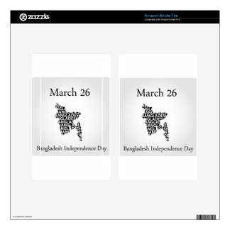 Bangladesh Independence day- March 26 Skins For Kindle Fire