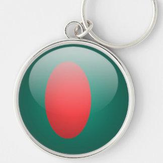 Bangladesh - llavero redondo superior