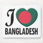 Bangladesh Love Mousemats