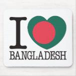 Bangladesh Love v2 Mousemats
