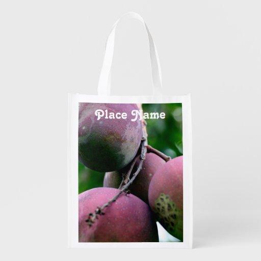 Bangladesh Mango Tree Reusable Grocery Bag