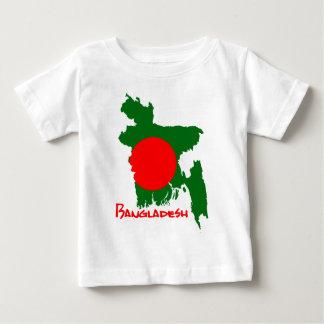 Bangladesh map baby T-Shirt