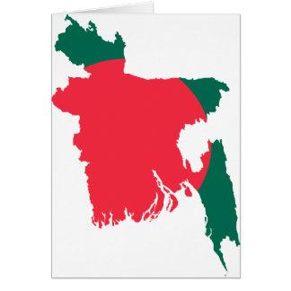 Bangladesh map BD Card