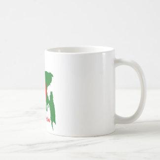 Bangladesh map coffee mug