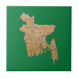 Bangladesh Map Tile