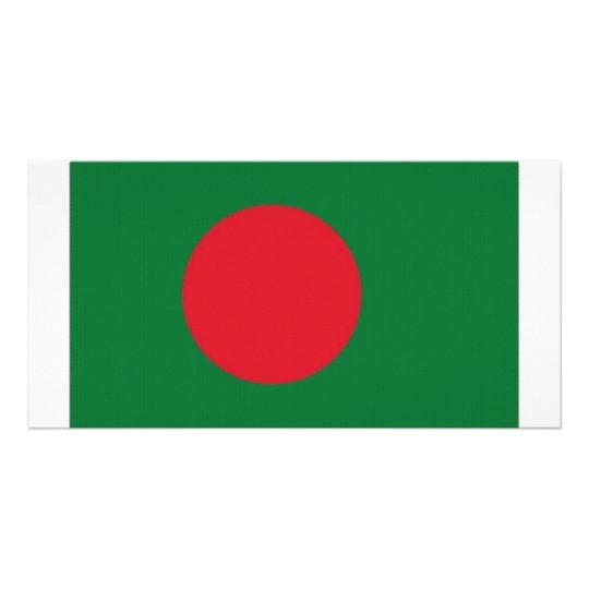 Bangladesh National Flag Card