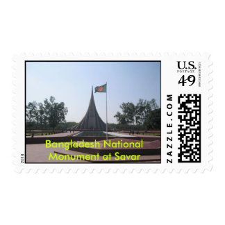 Bangladesh National Monument at Savar Stamps
