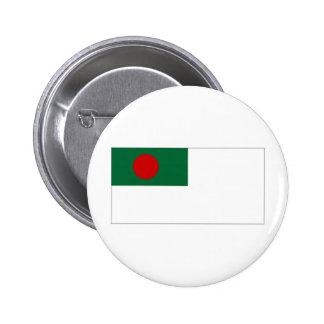 Bangladesh Naval Ensign Flag Pinback Button