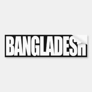 Bangladesh Pegatina Para Auto