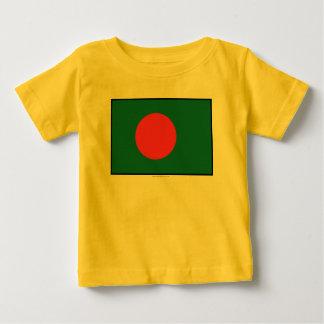 Bangladesh Plain Flag Baby T-Shirt