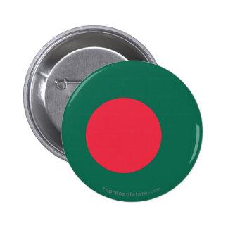 Bangladesh Plain Flag Buttons