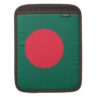 Bangladesh Plain Flag Sleeve For iPads