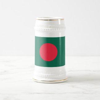 Bangladesh Plain Flag Coffee Mugs