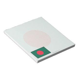 Bangladesh Plain Flag Note Pad