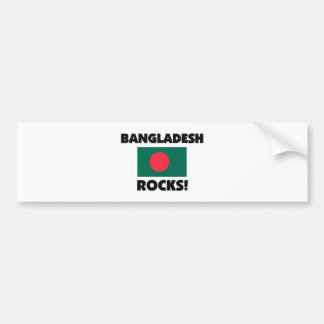 Bangladesh Rocks Car Bumper Sticker