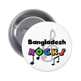 Bangladesh Rocks Pinback Button