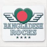 Bangladesh Rocks v2 Mouse Mat