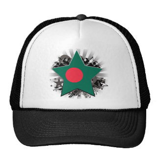 Bangladesh Star Trucker Hat