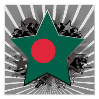 Bangladesh Star Poster
