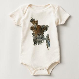 Bangladesh tiger baby bodysuit