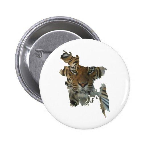 Bangladesh tiger pins