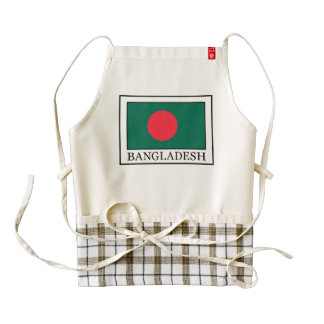 Bangladesh Zazzle HEART Apron