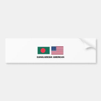 Bangladeshi American Car Bumper Sticker