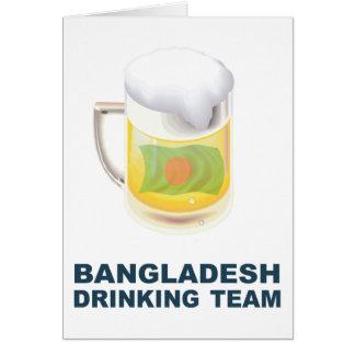 Bangladeshi Drinking Team Card