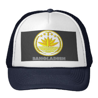 Bangladeshi Emblem Trucker Hat