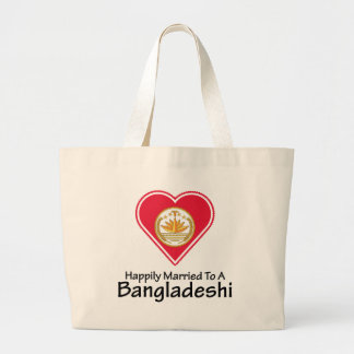 Bangladeshí feliz casado bolsas de mano