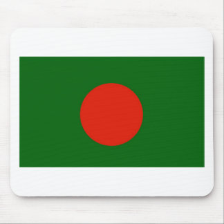 Bangladeshi Flag Mouse Pad