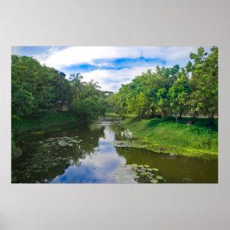 Bangladeshi landscape poster