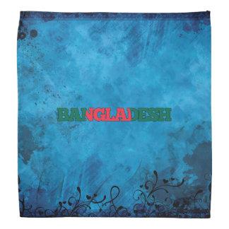 Bangladeshi name and flag on cool wall bandana