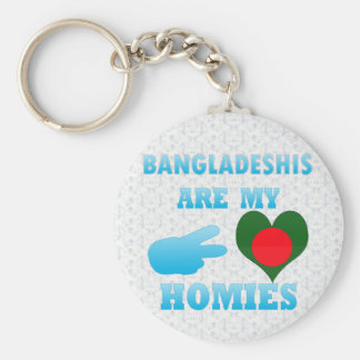 Bangladeshis are my Homies Keychains