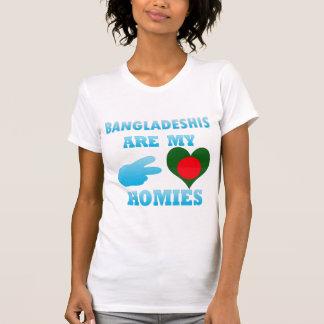 Bangladeshis are my Homies Tee Shirts