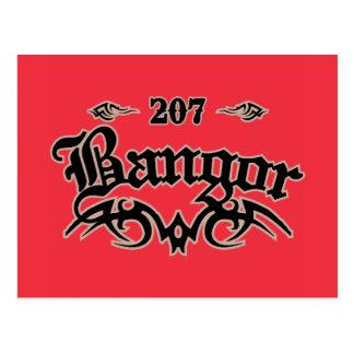 Bangor 207 postcard