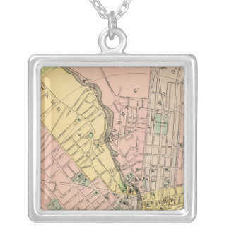 Bangor, Brewer Silver Plated Necklace