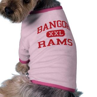 Bangor - espolones - High School secundaria de Ban Camisetas De Perro