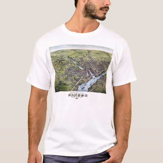 Bangor, Maine - 1875 T-Shirt