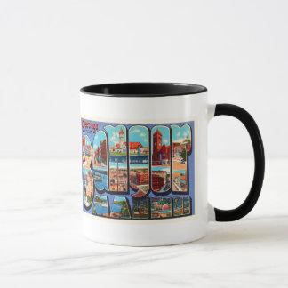 Bangor Maine ME Old Vintage Travel Souvenir Mug