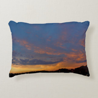 Bangor, Maine Sunrise Accent Pillow