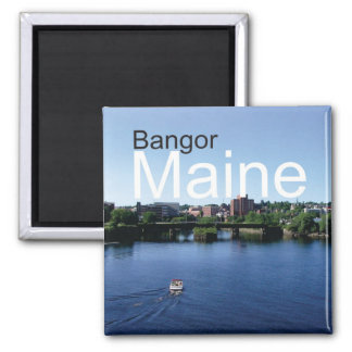 Bangor Maine Travel Souvenir Fridge Magnet